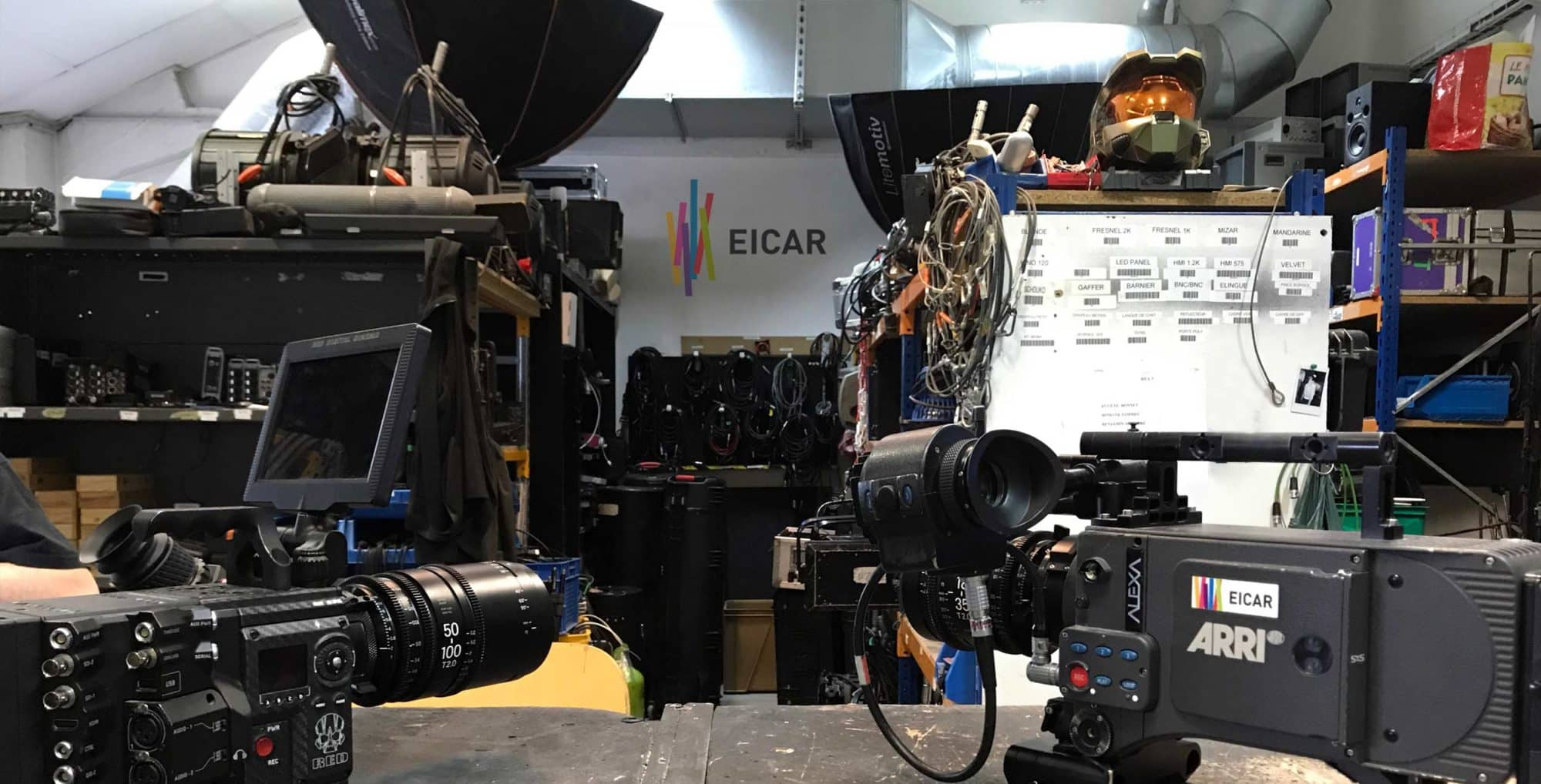 école de cinéma matériel équipements