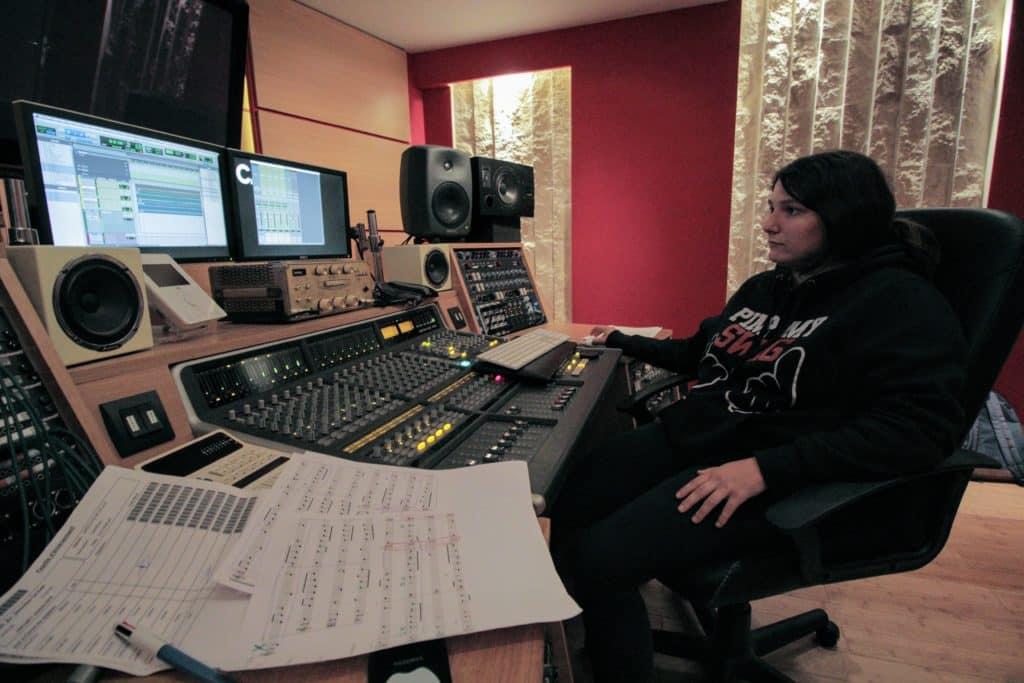 Ingénieur du son studio - formation EICAR aux métiers de la musique