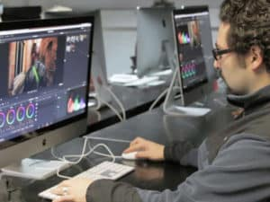 BTS Audiovisuel option montage et post-production