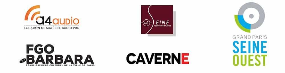 A4audio, Studio Caverne, FGO Barbara, Studios de la Seine, Conservatoire de Vanves