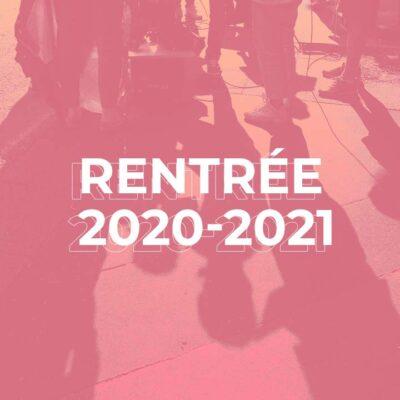 Rentrée 2020 à l'EICAR : dates et informations