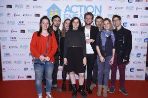 ACTION ENFANCE fait son cinéma - saison 2 : Marie Vidalie (étudiante en Réalisation cinéma et télévision à l'EICAR) et son équipe