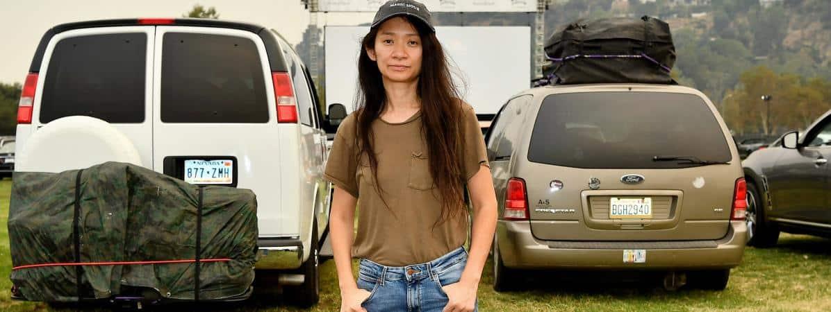 """La réalisatrice Chloé Zhao remporte le Lion d'or à la Mostra de Venise pour """"Nomadland"""". / © AMY SUSSMAN / GETTY IMAGES NORTH AMERICA"""