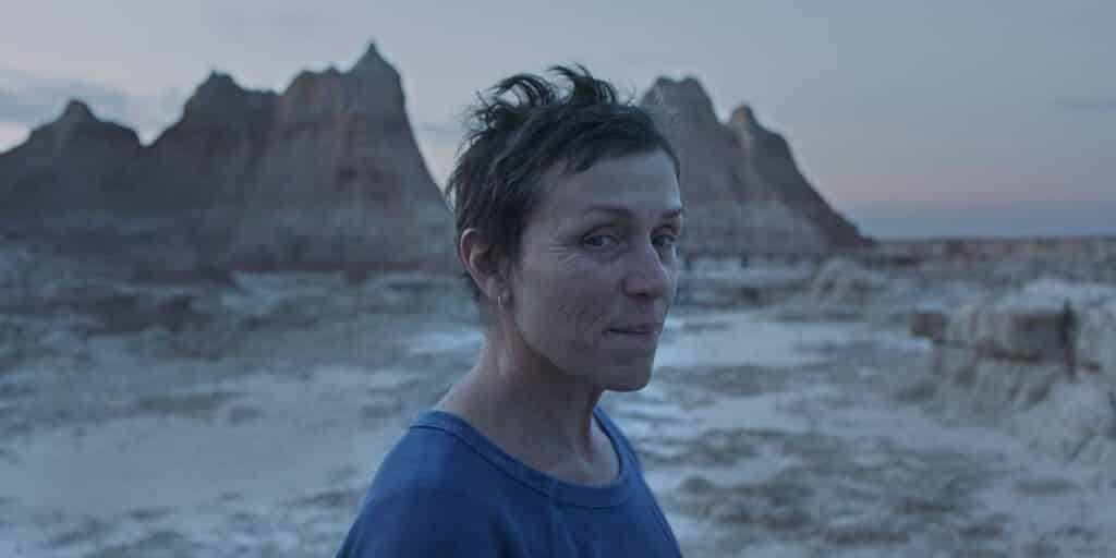 "Frances McDormand in ""Nomadland"". / © TIFF/Searchlight Pictures"