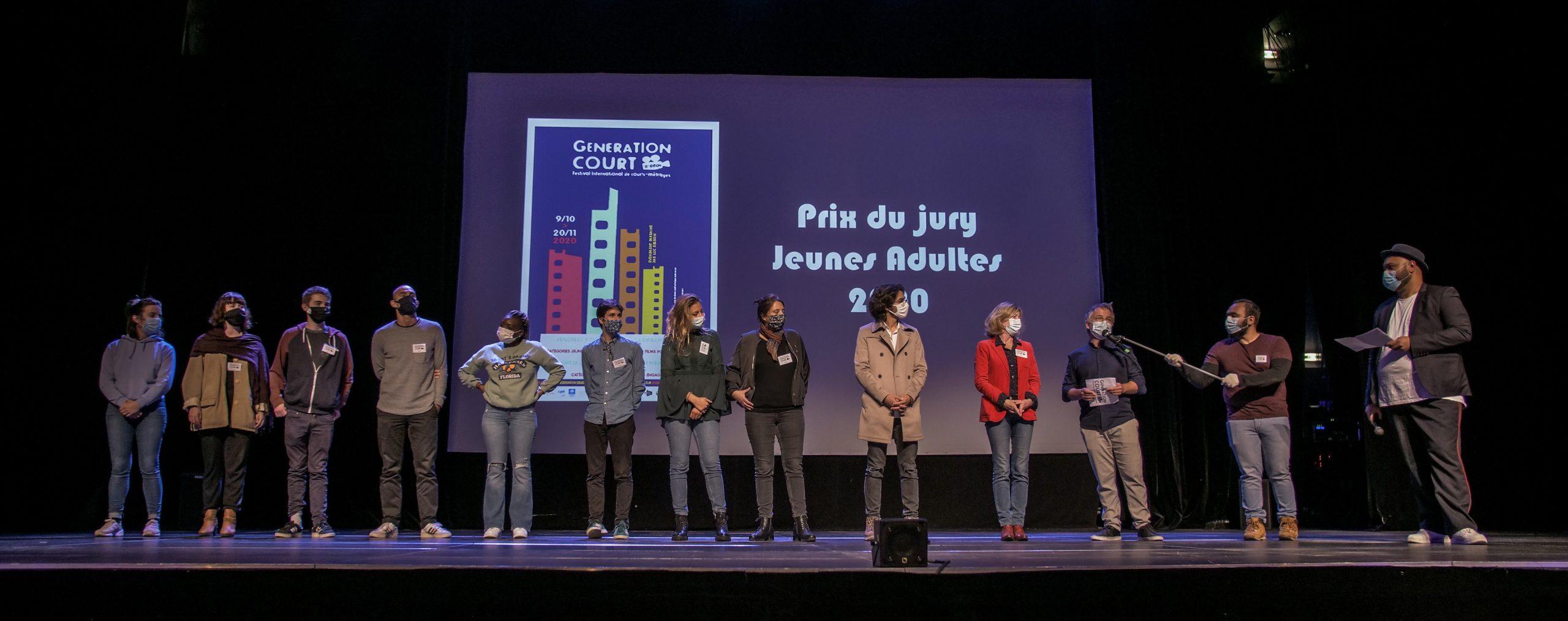 Le jury de la 15e édition de génération Court