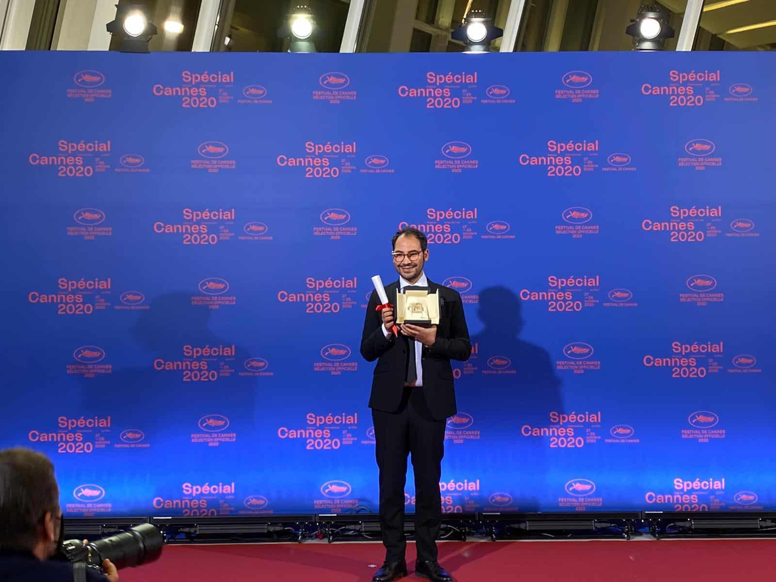 "Sameh Alaa, Palme d'or for Best Short Film at the ""Cannes 2020 Special"" Festival - Photos: Avantika Singh"