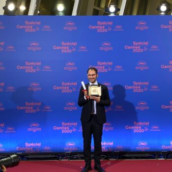 Sameh Alaa, Palme d'or Court Métrage Cannes 2020 - Photos: Avantika Singh