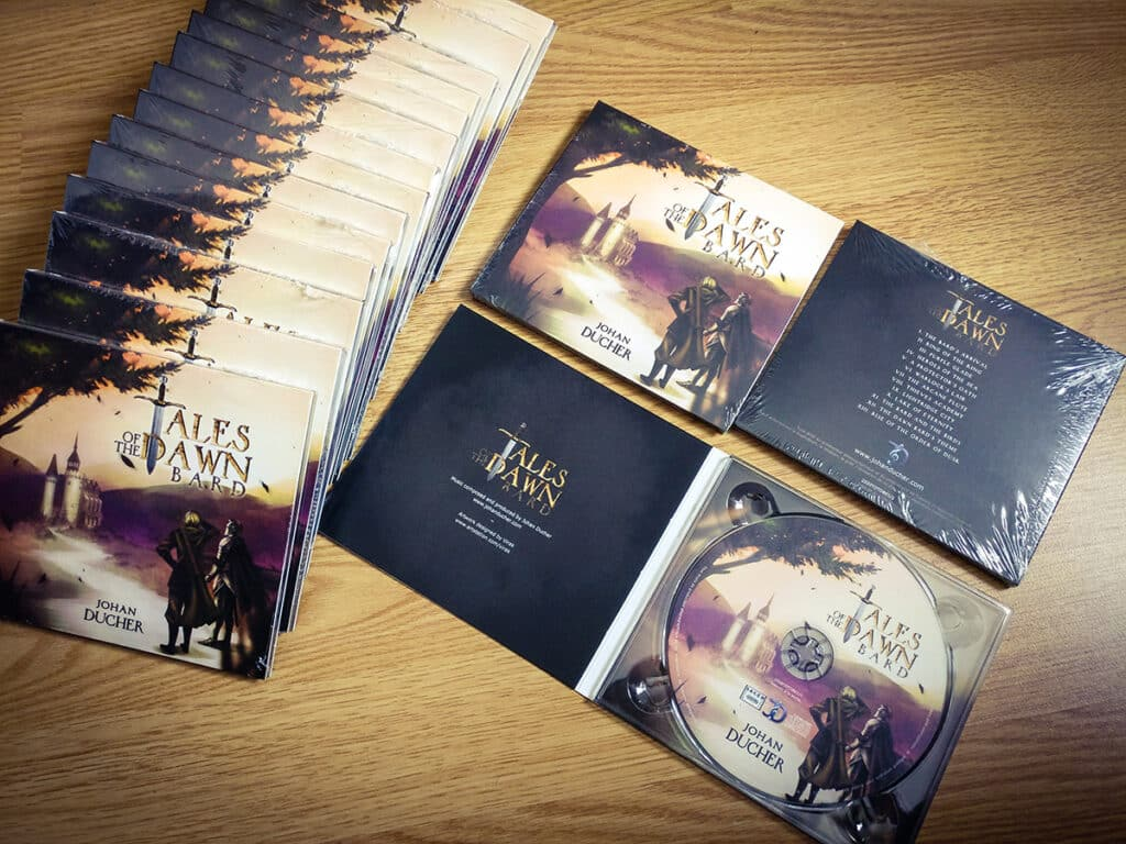 Tales of the Dawn Bard, le premier album de Johan Ducher, diplômé de l'EICAR