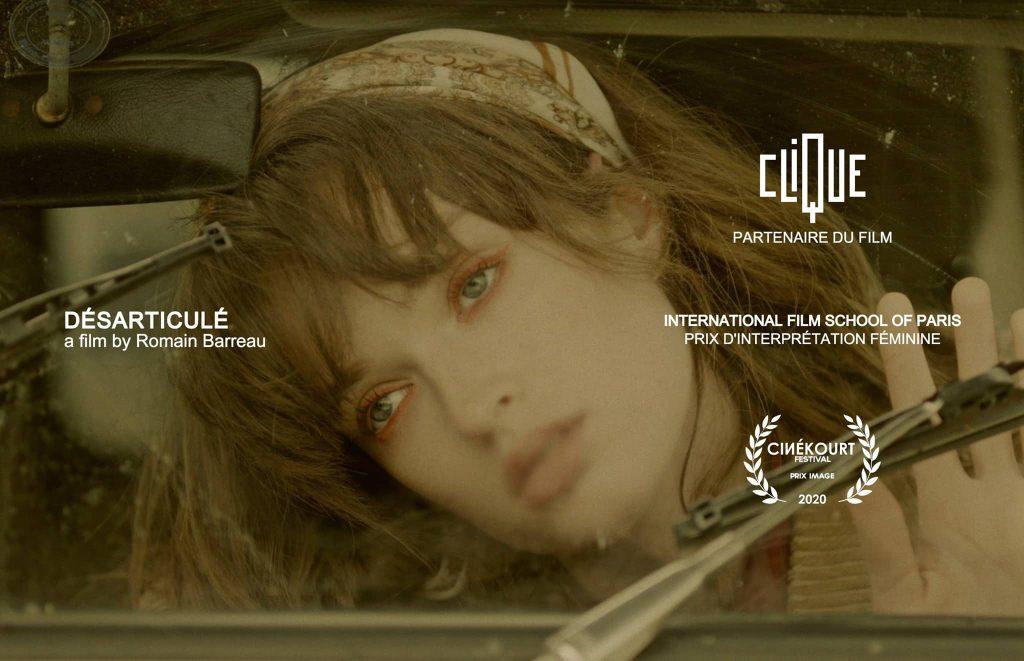 Affiche du film Désarticulé, réalisé par Romain Barreau (EICAR 2019)